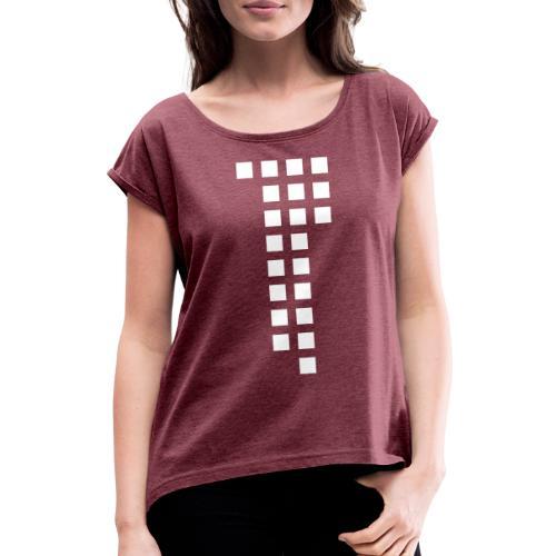 1893 Design Collection - Jasi Style - Frauen T-Shirt mit gerollten Ärmeln