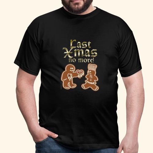 Weihnachts T Shirt Last Xmas - Geschenkidee - Männer T-Shirt