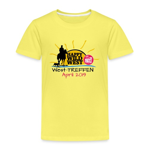 HAPPY CAMPING West Treffen - das KIDS T-Shirt - Kinder Premium T-Shirt