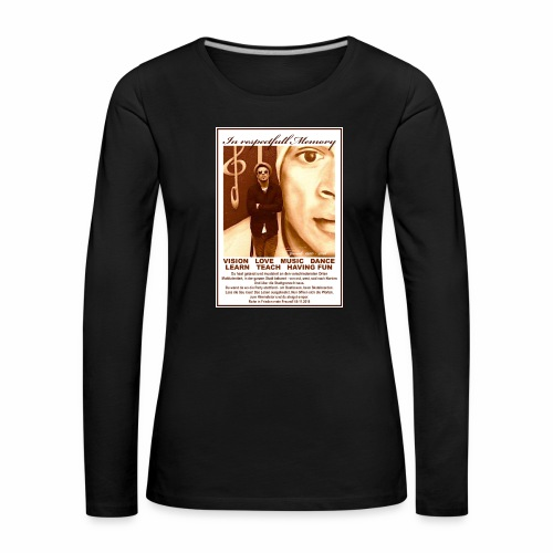 Janek RiF female - Frauen Premium Langarmshirt