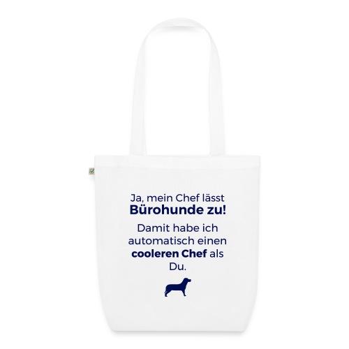 Bürohund-Tasche Coolerer Chef - Bio-Stoffbeutel