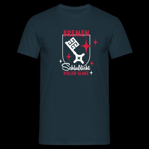 Bremen – Schlußlicht voller Glanz - Männer T-Shirt