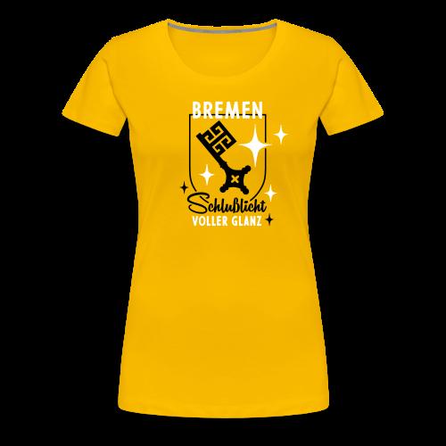 Bremen – Schlußlicht voller Glanz - Frauen Premium T-Shirt