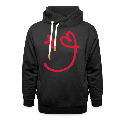 Love and Positivity - Shawl Collar Hoodie
