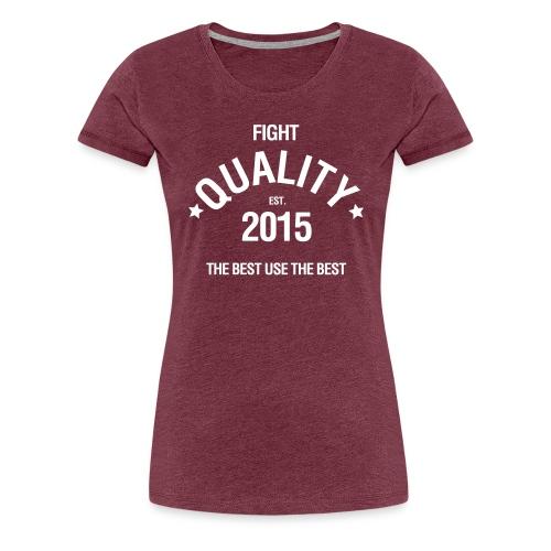 Womens Est. 2015 T-Shirt Red - Women's Premium T-Shirt