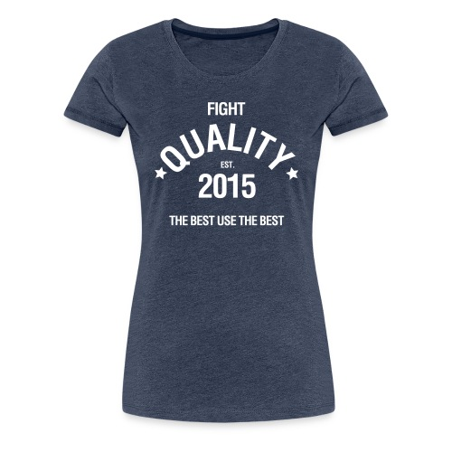 Womens Est. 2015 T-Shirt Blue - Women's Premium T-Shirt