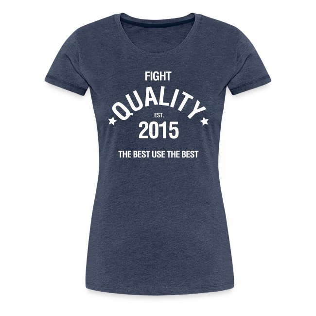 Womens Est. 2015 T-Shirt Blue