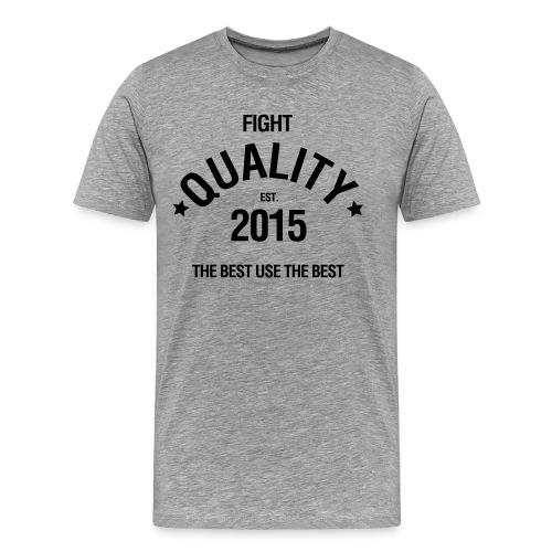 Mens Est. 2015 T-Shirt Grey - Men's Premium T-Shirt