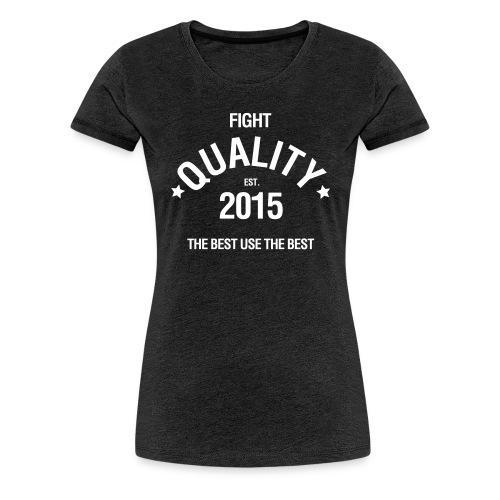 Womens Est. 2015 T-Shirt Dark Grey - Women's Premium T-Shirt