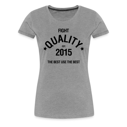 Womens Est. 2015 T-Shirt Grey - Women's Premium T-Shirt