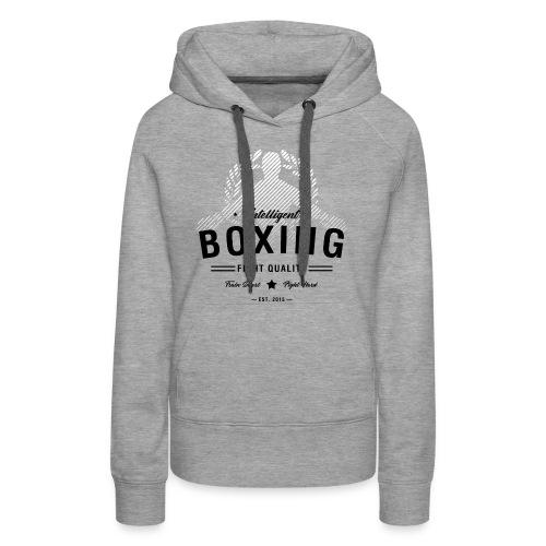 Womens Boxing Hoodie - Women's Premium Hoodie