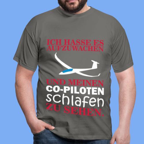 Wake up glider pilot arcus - Tshirt von Flieschen - Männer T-Shirt