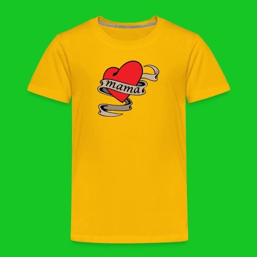 I love mama kinder t-shirt - Kinderen Premium T-shirt