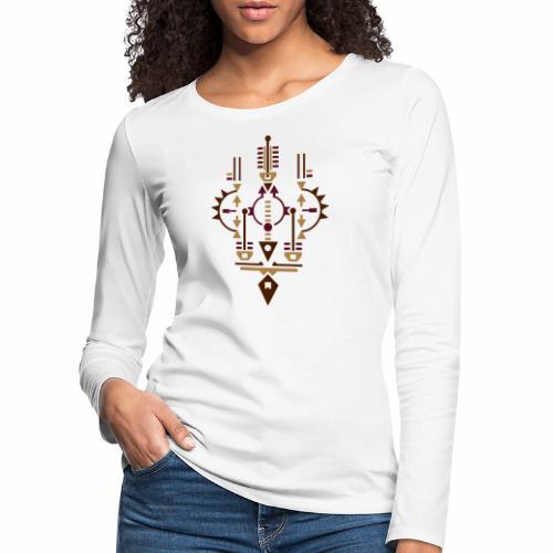 Radar Navota Design - Vrouwen Premium shirt met lange mouwen