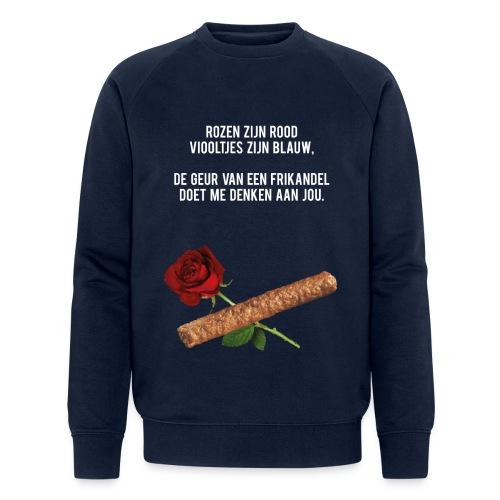Rozen zijn rood - Mannen bio sweatshirt van Stanley & Stella