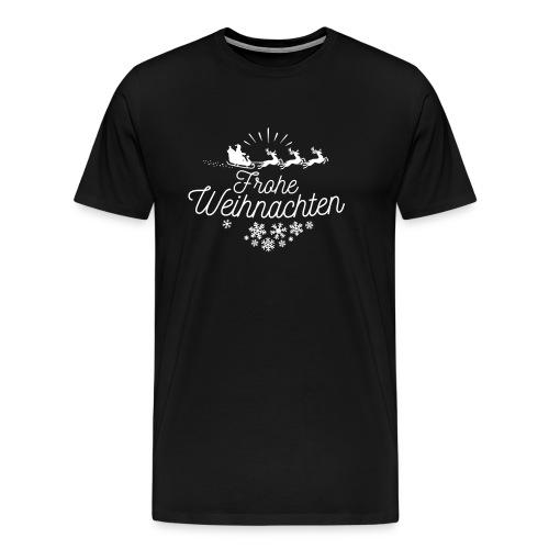 Frohe Weinachten - Männer Premium T-Shirt
