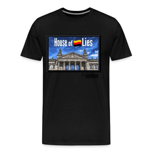 Herren T-Shirt / Haus der Lüge - Männer Premium T-Shirt
