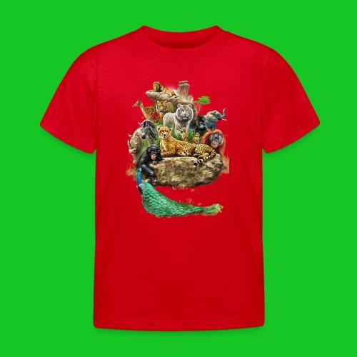 Beestenboel kinder t-shirt - Kinderen T-shirt