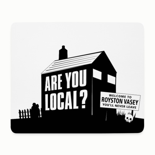 Are You Local? #1 - Mouse Pad (horizontal)