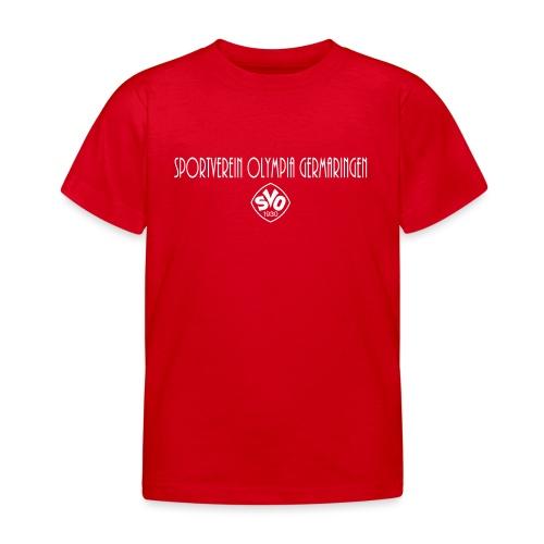 Kinder Fan T-Shirt des SVO - Kinder T-Shirt