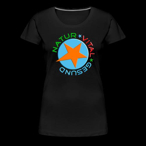 NATUR-VITAL-GESUND - Frauen Premium T-Shirt