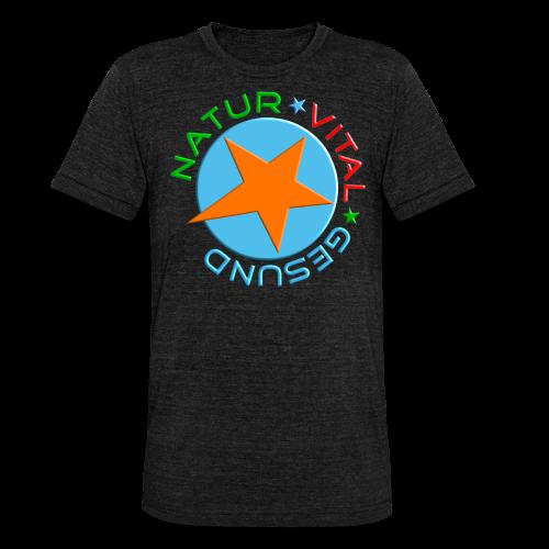 NATUR-VITAL-GESUND - Unisex Tri-Blend T-Shirt von Bella + Canvas