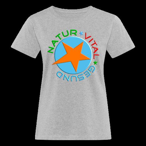 NATUR-VITAL-GESUND - Frauen Bio-T-Shirt