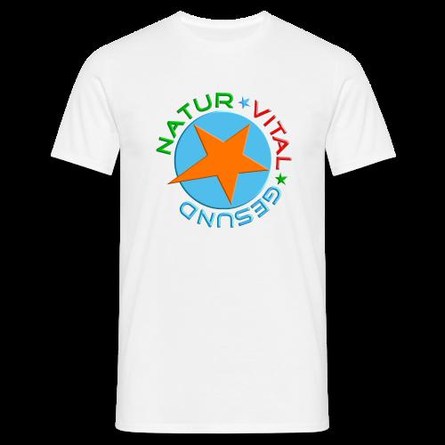 NATUR-VITAL-GESUND - Männer T-Shirt