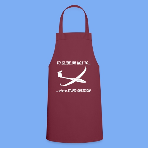 To Glide or NOT to - Tshirt von Flieschen - Cooking Apron