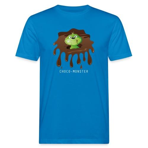 Choco-Monster - Männer Bio-T-Shirt - Männer Bio-T-Shirt
