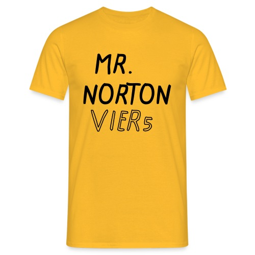 MR. NORTON VIER5 - Männer T-Shirt