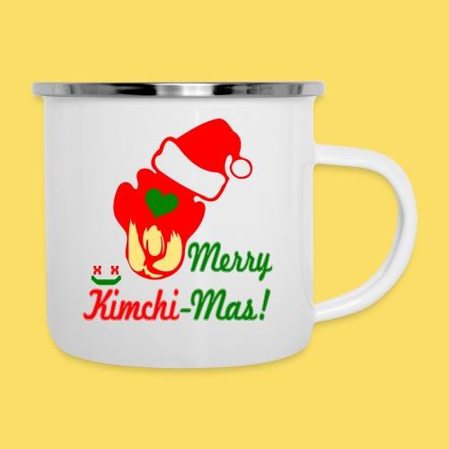 ❤ټMerry Kimchi-Mas-Fun Foodcontest Christmasټ - Camper Mug