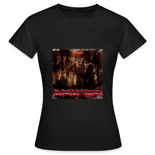 The Rock'n'Roll Monsters Womens T-Shirt - Naisten t-paita