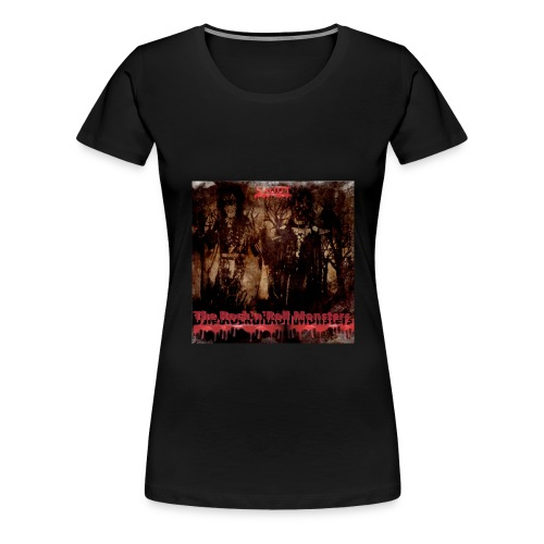 The Rock'n'Roll Monsters Womens Premium T-Shirt - Naisten premium t-paita