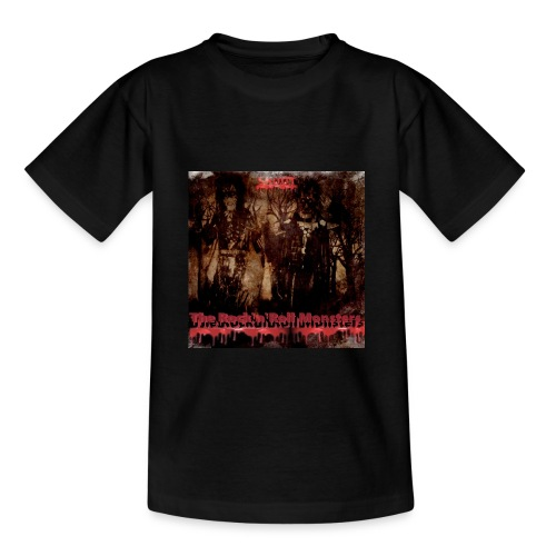 The Rock'n'Roll Monsters Teenagers T-Shirt - Nuorten t-paita