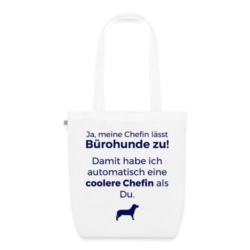 Bürohund-Tasche Coolere Chefin - Bio-Stoffbeutel