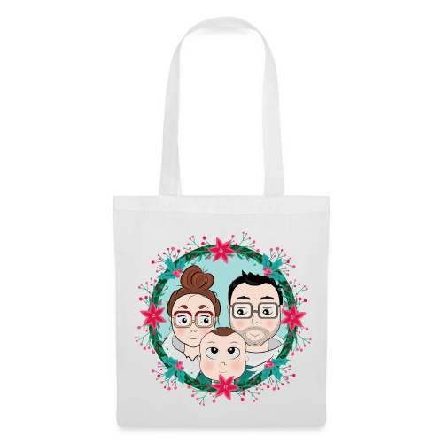 """Tote Bag En famille"""" - Tote Bag"""
