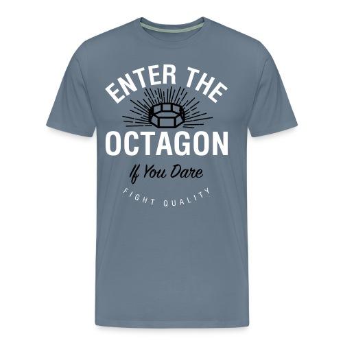 Mens Octagon T-Shirt - Men's Premium T-Shirt