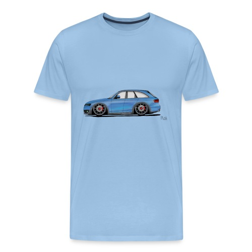 Auto Comic - Männer Premium T-Shirt