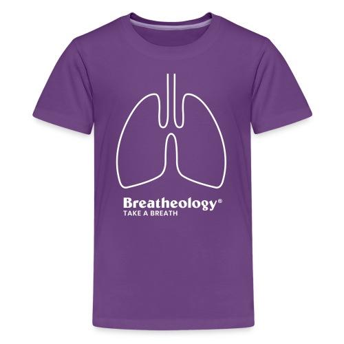 Breatheology Classic T-Shirt - Teens - Teenage Premium T-Shirt