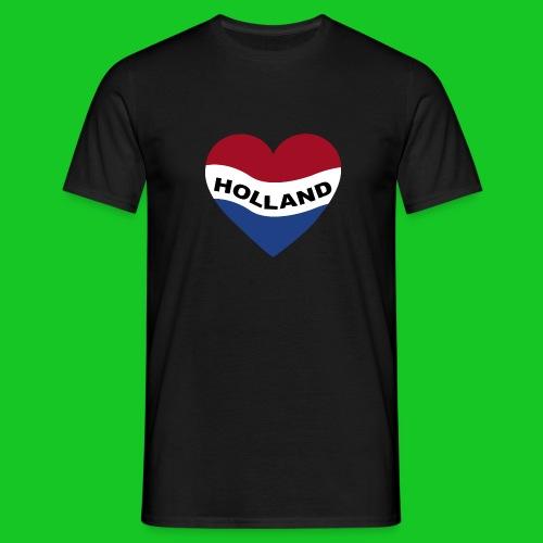 Love Holland Hart heren t-shirt - Mannen T-shirt