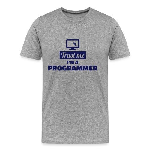 Trust me I am a programmer - Mannen Premium T-shirt