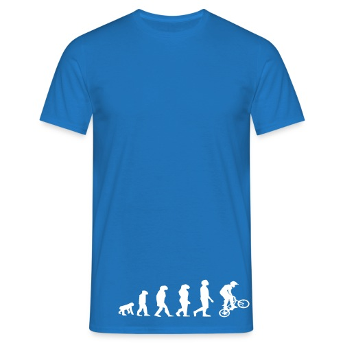 BmxEvolutionTshirt - Men's T-Shirt