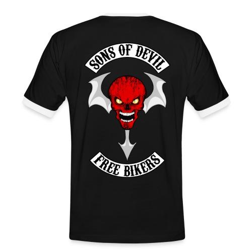Sons of Devil - T-shirt contrasté Homme