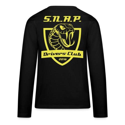 Teen GELB - Teenager Premium Langarmshirt