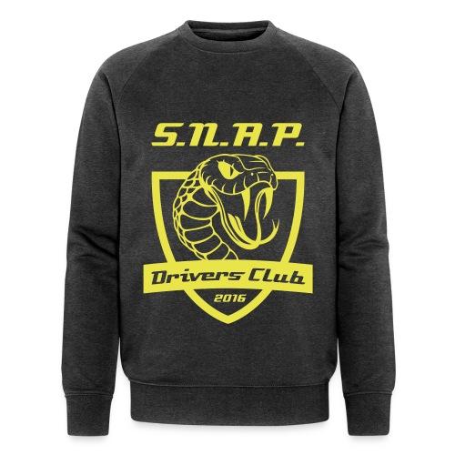 Grau/Gelb - Männer Bio-Sweatshirt von Stanley & Stella