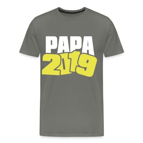 Papa 2019 - Männer Premium T-Shirt