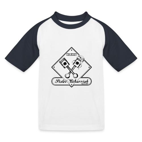 Baby Pistoi - T-shirt baseball Enfant