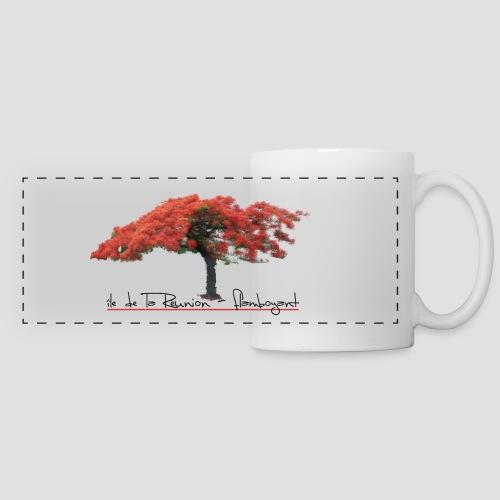 Mug panoramique contrasté et blanc Flamboyant - Mug panoramique contrasté et blanc