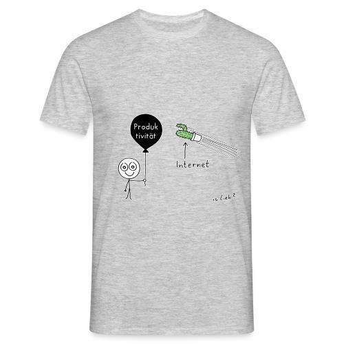 Modernes Drama, Männer-Shirt - Männer T-Shirt
